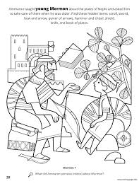 New drawings and coloring pages will be added regularly, please add. Ammaron Taught Young Mormon About The Plates Of Nephi Coloring Pages Printable