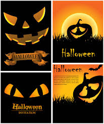 Halloween Invitations Cards Halloween Invitation Cards Vector Vector Graphics Blog