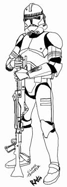 Small Picture Clone Trooper Coloring Pages with regard to Encourage to color an