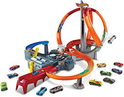 Buy <b>Hot wheels Spin</b> Storm Track Set, Multi Color Online at Low ...