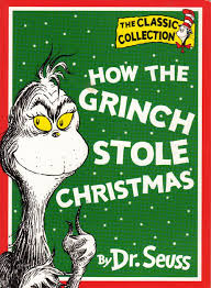 how the grinch stole christmas book cover. Brilliant Christmas How The Grinch Stole Christmas  Cover With The Book R