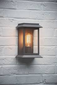 grosvenor outdoor wall mounted porch light in charcoal the hing 1
