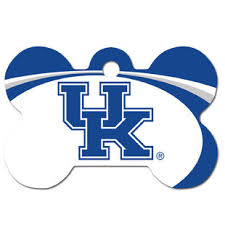 Ncaa Pet Dogids Kentucky Id Wildcats Dog Tag xqwxSPIX