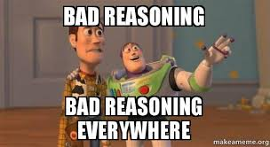 Image result for Photo bad reasoning