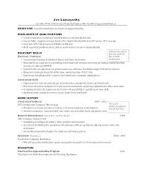 Apprenticeship Cover Letter Examples Electrician Cover Letter