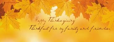 happy thanksgiving to family and friends happy thanksgiving thankful for family and friends facebook cover