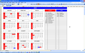 Excel 2010 Calendar Barca Fontanacountryinn Com