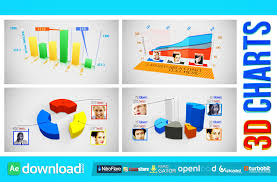 3d Charts Free After Effects Project Videohive Free