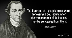 TOP 25 QUOTES BY PATRICK HENRY (of 102) | A-Z Quotes