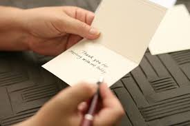 Tips On How To Write A Thank You Note