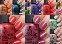 opi nail polish colors for summer 2018005