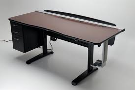 table desks office. Ergo Office Height Adjustable Desk Right View Table Desks O