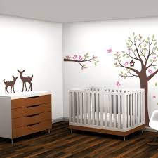 tree with flowers wall decal nursery