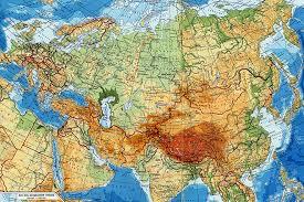 Интересные факты о Евразии СМИ Карта Евразии