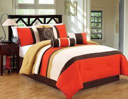 orange comforter set orange comforter sets images of orange brown