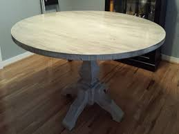 dining table whitewashed round pythonet home furniture