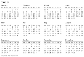 Annual Calendar Templates Fresh Free Printable Calendars And ...