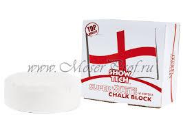 <b>Меловой брусок</b> для шерсти белый <b>Show Tech</b> English Chalk ...