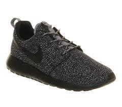 Nike Roshe Run Cool Designs Nike Roshe Run Cool Grey Black Print Unisex Sports Kix