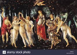 1482 painting by the italian renaissance painter sandro botticelli