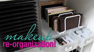 makeup re organization storage solutions for your collection you