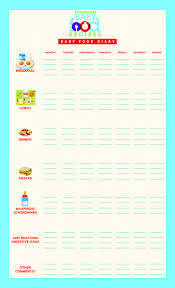 Baby Food Diary Printable Chart To Record Babys First Foods
