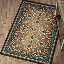 wildlife rugs appalachian waltz rug collection black forest decor in turquoise and brown remodel 10