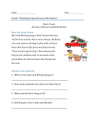 Most of the words use the short vowel sounds. 63 Excelent First Grade Reading Comprehension Questions Picture Ideas Samsfriedchickenanddonuts