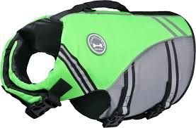Vivaglory Size Chart Vivaglory Sports Style Ripstop Dog Life Jacket Bright Green