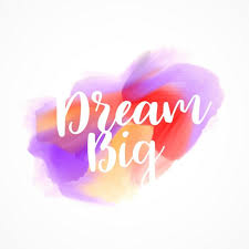 Quote Dream Big Best of Dream Big Artistic Quote Vector Free Download