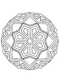 Kleurplaat Mandala 7228 Kleurplaten