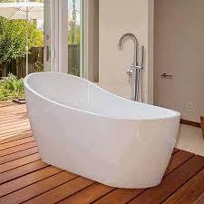 woodbridge b 0002 67 acrylic freestanding soaking tub
