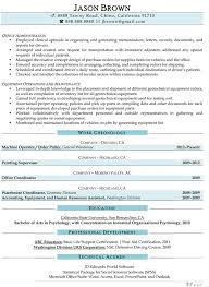 Resume Sample Human Resources Assistant Resume Best Inspiration