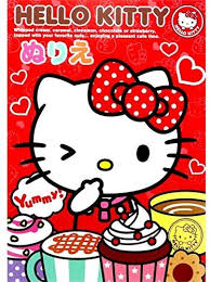 Check out our hello kitty cafe selection for the very best in unique or custom, handmade pieces from our shops. Amazon Com Sanrio Hello Kitty Coloring Art Book Made In Japan Toys Games