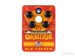<b>Orange Two</b> Stroke гитарная <b>педаль</b> купить в Москве с доставкой ...