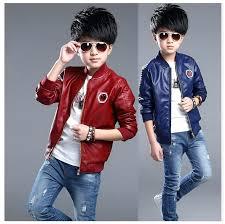 boy leather coats bulk from china kids er jackets for boys girls toddler