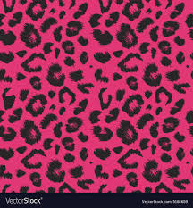 Leopard Pattern Enchanting Leopard Print Pattern Repeating Seamless Vector Image