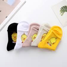 Милые танцевальные желтые <b>носки с вышивкой</b>, <b>носки</b> с ...