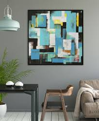 Modern Painting For Sale High Rise Art Serie 2019 Ronald Hunter