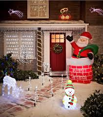 traditional outdoor christmas decoration ideas picture