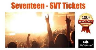 Seventeen Svt Tickets Sugar Land Tx Smart Financial Centre