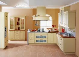 Perfect ... Cabinets Yellow Paint Color Ideas For Modern Kitchen With