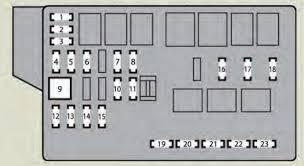 lexus is f (2008 2010) fuse box diagram auto genius 2006 IS 250 lexus is f fuse box engine compartment (type b)