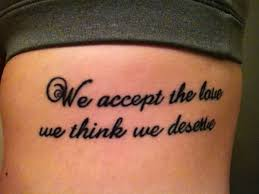 Quote Tattoos For Women Simple 48 Meaningful Quote Tattoo Designs