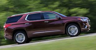 2018 chevrolet traverse redesign. simple redesign 2018 chevrolet traverse chevyu0027s big suv gets bigger and better where it  counts on chevrolet traverse redesign