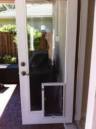 astonishing dog door in glass door backyards installing sliding glass dog door how to install a