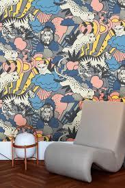 Crazy Cool Wallpaper Anna Ekre Jungle Love Behang En Tegels