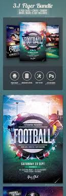 Big Game Football Flyer Template   Games Football, Flyer Template ...