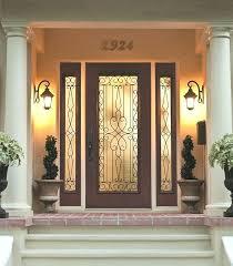 front entry doors with glass wrought iron door glass outside view front entry doors with impact front entry doors with glass