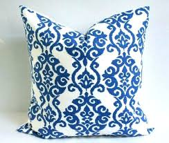 royal blue decorative pillows. Plain Decorative Wellliked Blue And White Pillows Elegant Accent Or  QX83 In Royal Decorative P